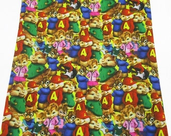 alvin and the chipmunks fabric