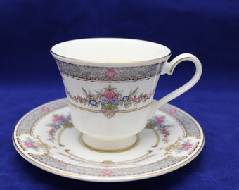 Minton Persian Rose Cup & Saucer Bone China Made in England - 2nd Grade - (7 available)