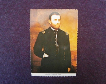 Postcard Ulysses S Grant Unused Mayer