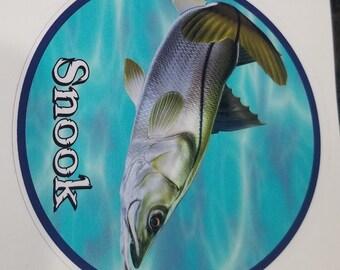 Snook Decal, fish sticker