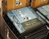 Raw White Blueberry Lotus Certified Organic Vegan Fair-Trade  set of 6