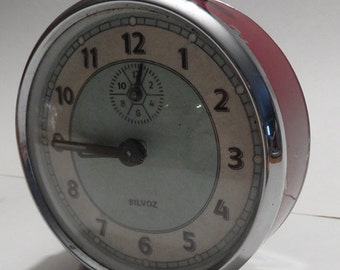 Vintage Silvoz alarm clock