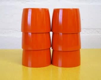 Vintage melamine egg cups