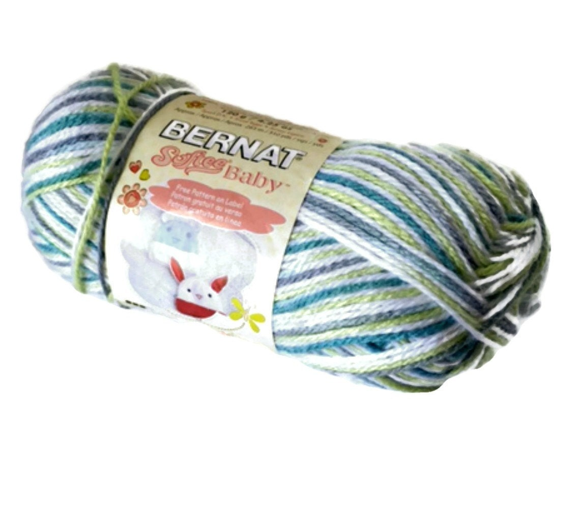 Bernat Softee Baby Yarn Prince Pebbles Ombre By