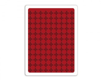 Sizzix Tim Holtz Texture Fades Embossing Folder - Plus Sign