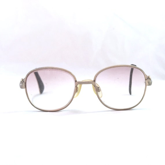 Kids Luxottica Lucy Glasses Frames Pink and Gold Ombre
