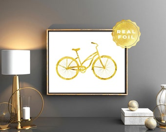 Bike Wall Art bicycle wall art | etsy