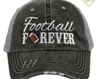 Football Trucker Hat Sports Mom  Football Mom