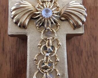 Jeweled Cross Box