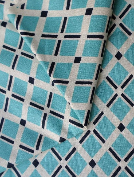 Fancy Free Diagonal Plaid Fabric by the Yard Home by