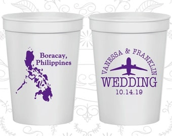 Philippines Wedding Cups, Philippines Wedding, Promotional Cups, Destination Wedding, souvenir cups, Boracay Cups (187)