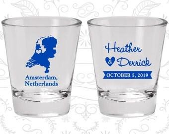 Netherlands Shot Glass, Netherlands Shot Glasses, Netherlands Glass, Netherlands Glasses, Netherlands Glassware (197)