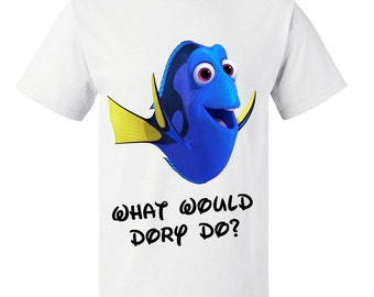 Boys or Girls Finding Dory What Would Dory Do Kids T Shirt