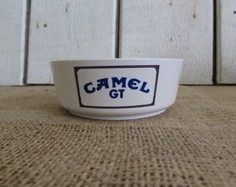 White Camel Saf-T-Dish Ashtray, Vintage Camel Ashtray, Vintage Ashtrays, Old Ashtrays, Camel Ashtrays, Collectible Ashtrays, Camel Items