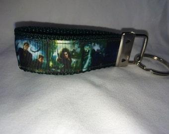 Harry Potter scenes strap keychain