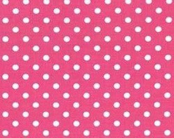 Michael Miller Fabrics - Dumb Dot Raspberry - CX2490-RASP-D