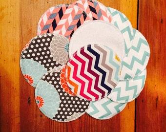 Reusable nursing pads, set of 5