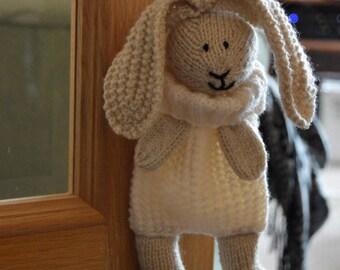 KNITTING PATTERN - Bunny Baggles Easter Gift Bag