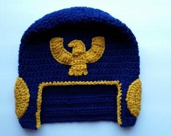 Crocheted Captain Falcon Hat