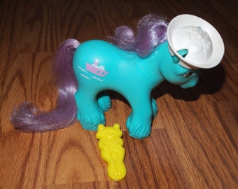 My Little Pony Big Brother Salty with Hat and Frog Brush!