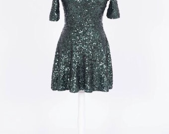 Sequenced Dream Circle Dress