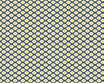 Riley Blake Dutch Treat by Betz White C5285 Medallion Gray - Quilts - Quilting - Dresses - Crafts