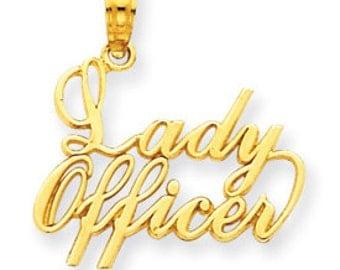 Lady Officer Pendant (JC-689)