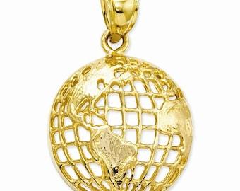Polished Globe Pendant (C2246)