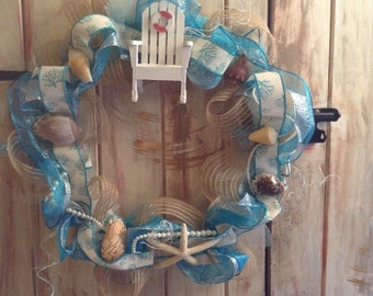 Just beachy wreath
