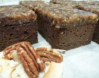 German Chocolate Cake 3 pack (Gluten-Free, Soy-Free, Vegan)