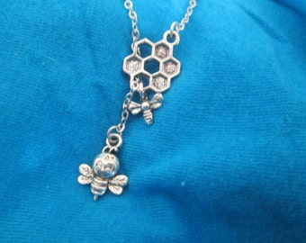 Bumblebee Necklace - Lariat Style