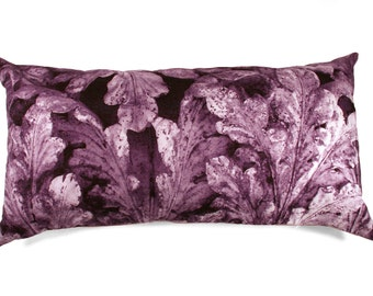 40% Off Hot Summer Sale In the Details  -  New Size!! Grape Acanthus  Pillow