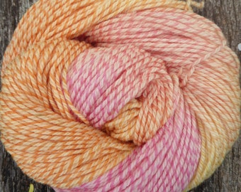 Pure MERINO TWEED DK 100 gms, 225 mts, Hand Dyed, Mollycoddle Yarns