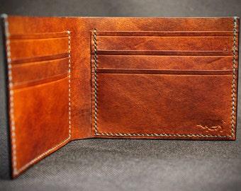 "The ""James"" billfold wallet"