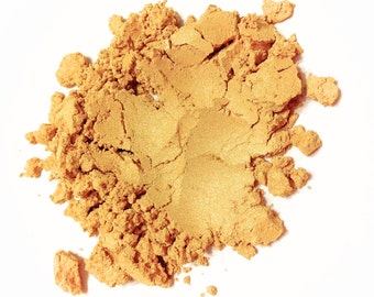 GOLD DIGGER Mineral Eye Shadow - Natural Mineral Makeup - Gluten Free Vegan Face Color