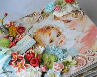 Baby Album, Lullaby, Mini Album, Scrapbook Album, Graphic 45