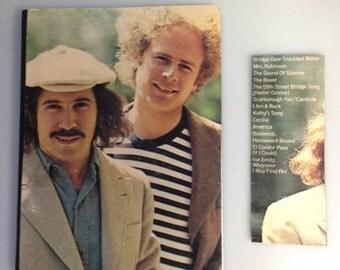 "Recycled Record Album Cover Notebook / Journal / ""Simon & Garfunkel"""