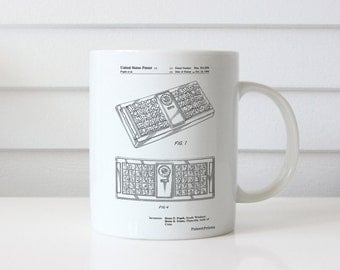 Concept Game Patent Mug, Game Room Decor, 90s Toys, Retro Mug, Toy Room, PP0872