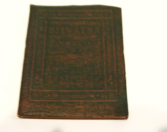Little Leather Library Hiawatha Vol. II Longfellow Brown Redcroft Edition 1920s