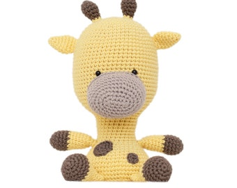 Fat Face Giraffe Amigurumi Pattern