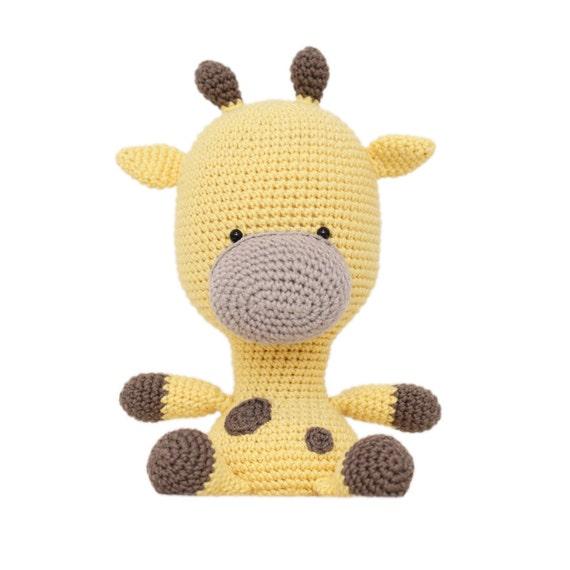 Fat Face Giraffe Amigurumi Pattern