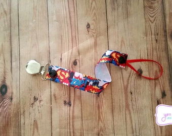 Pacifier Holder- Zap! Kapow