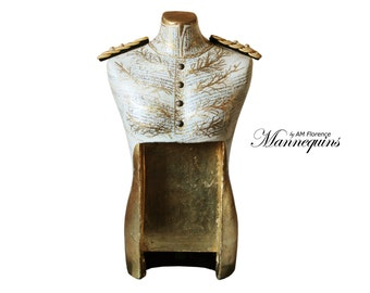 Mannequin Art luxury Victorian Style Bust Home Decor: Presley