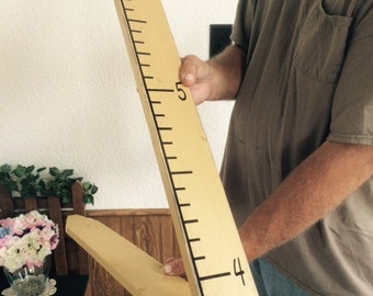 Wooden Pencil Growth Chart