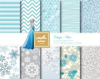 Frozen, Elsa Digital Paper