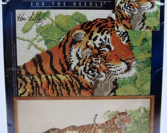 Signature Series Designs Tigers 5416 Counted Cross Stitch Kit