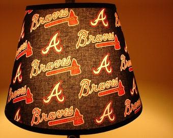 Atlanta Braves Bat Lamp