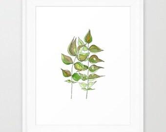 Leaves11 -original artwork