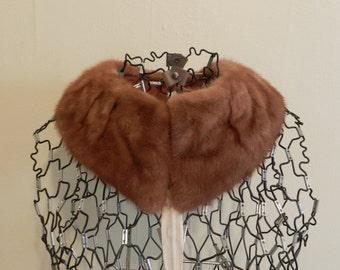 Lady Mary's Mink Collar. Fur Collar.