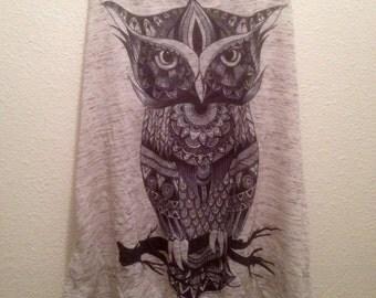 XS Grey Owl Tank